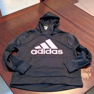 Nwt: girls black Adidas hoodie